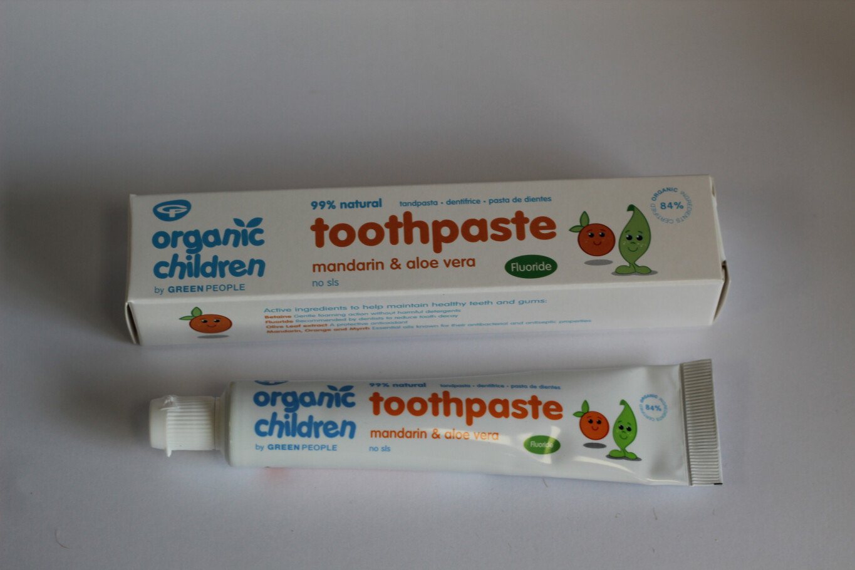 Organic Children's Toothpaste