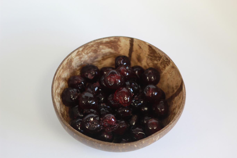 Dark Red Glace Cherries 100g