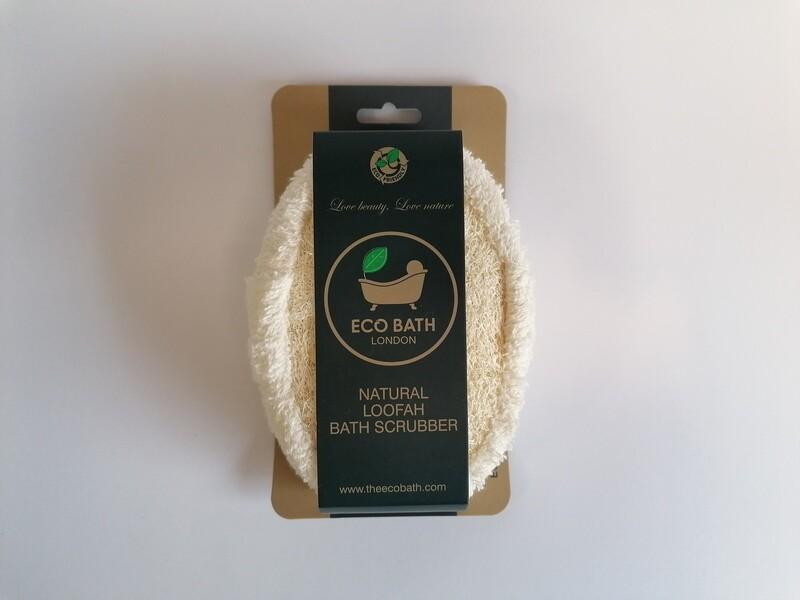 EcoBath Natural Loofah Bath Scrubber