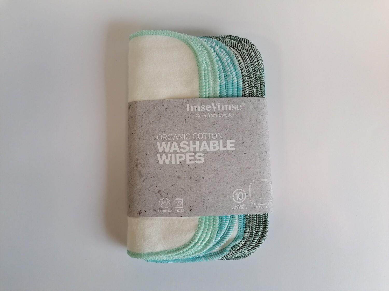 ImseVimse Organic Cotton Wipes