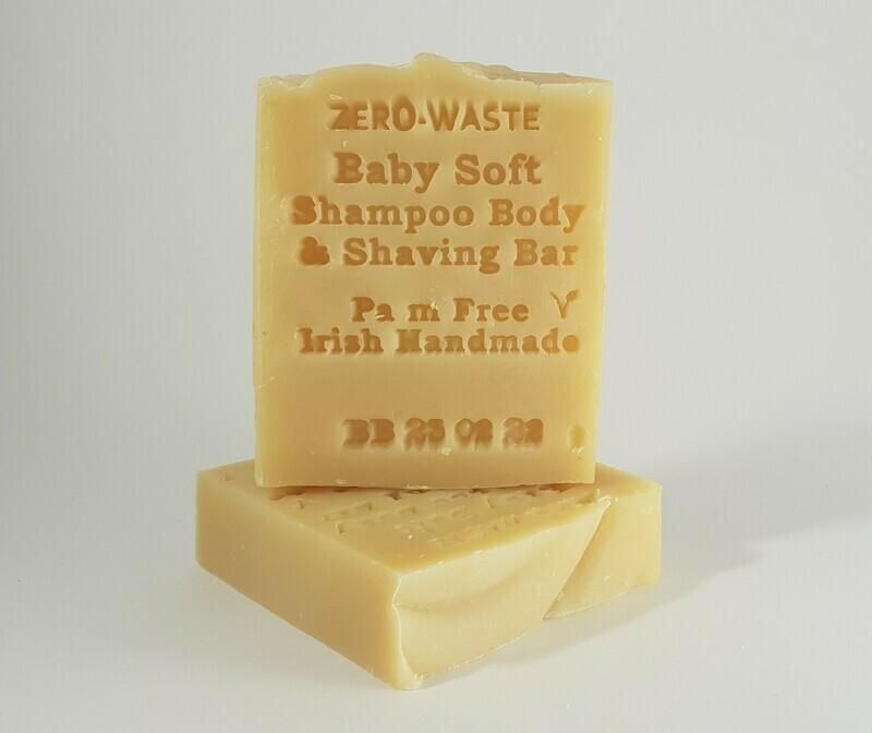 Palm Free Irish Baby Shampoo & Body Bar