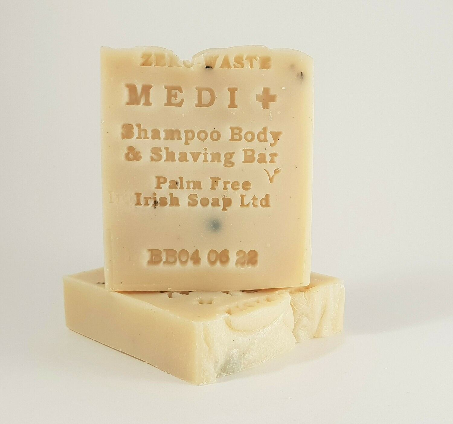 Palm Free Irish Medicated Shampoo, Body, Shaving Bar