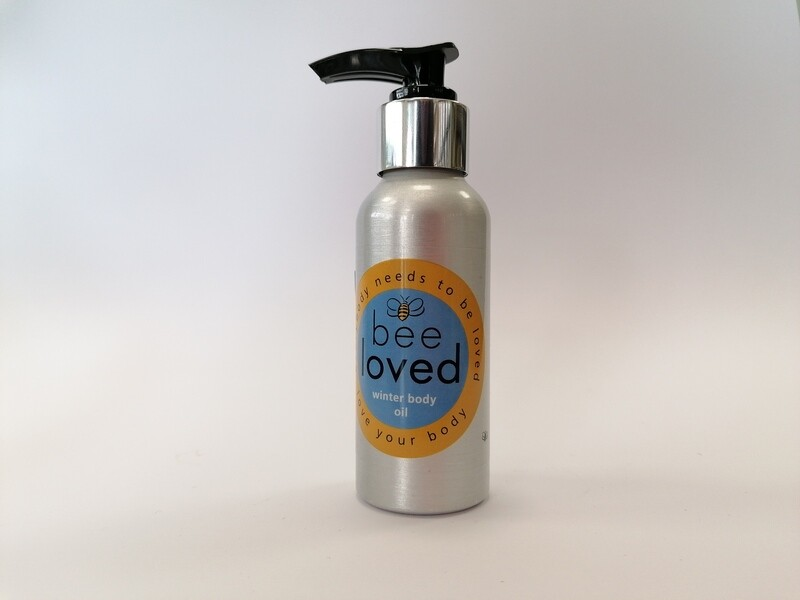 HALF PRICE!!!!!Bee Loved Winter Body Oil