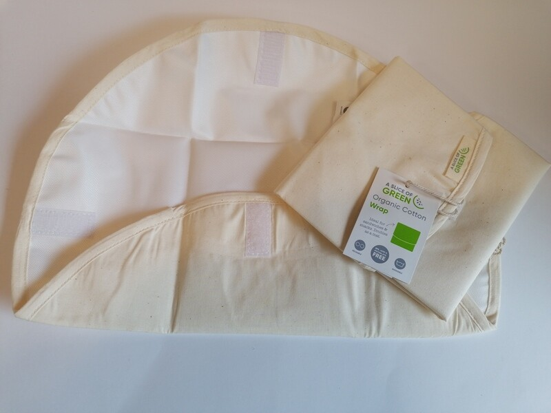 A Slice of Green Organic Cotton Food Wrap