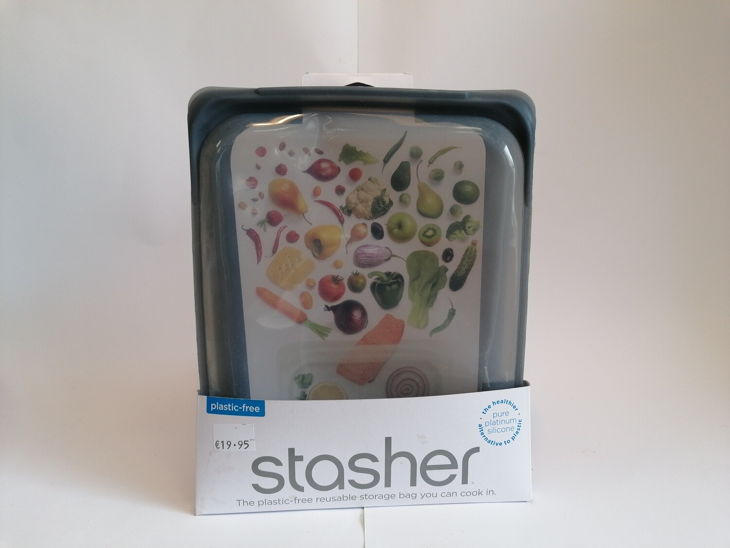 Stasher Large Half Gallon Bag
