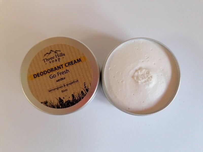 Three Hills Deodorant Cream Tin