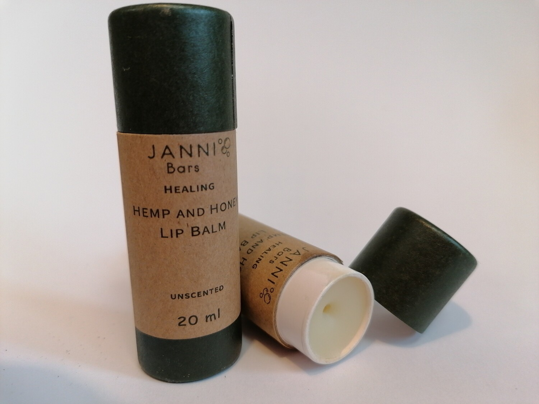 Janni Hemp & Honey Lip Balm