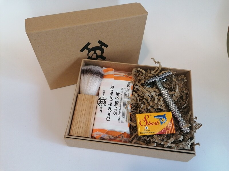 Mutiny Safety Razor Gift Set