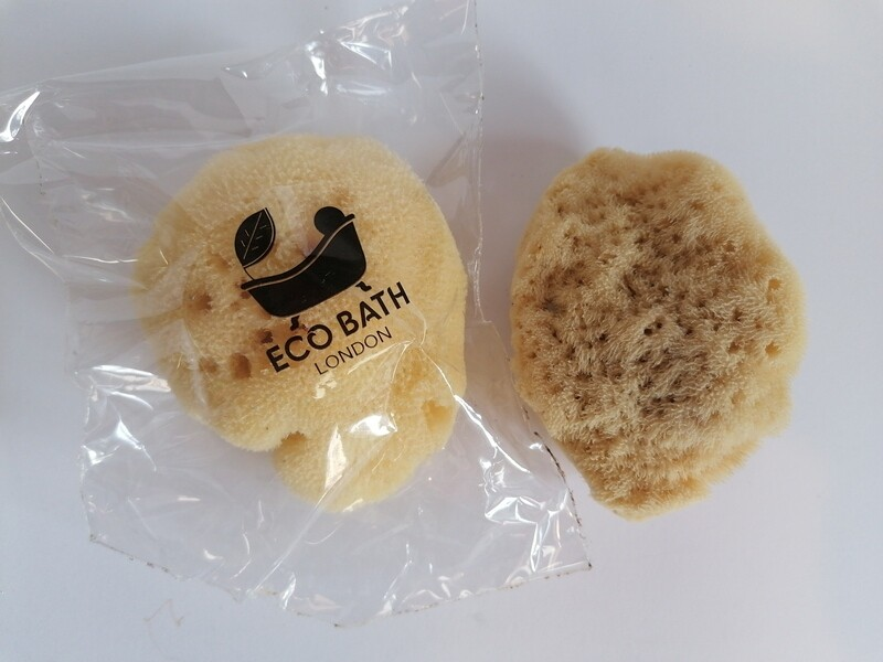 Eco Bath Natural Sea Sponge 7-8cm