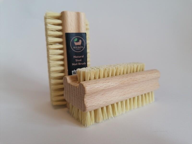 Eco Bath Natural Sisal Nail Brush