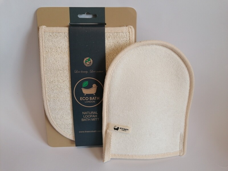 Eco Bath Natural Loofah Bath Mitt