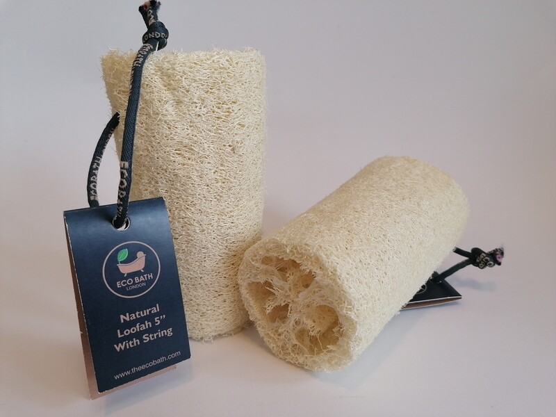 Eco Bath Natural Loofah with String