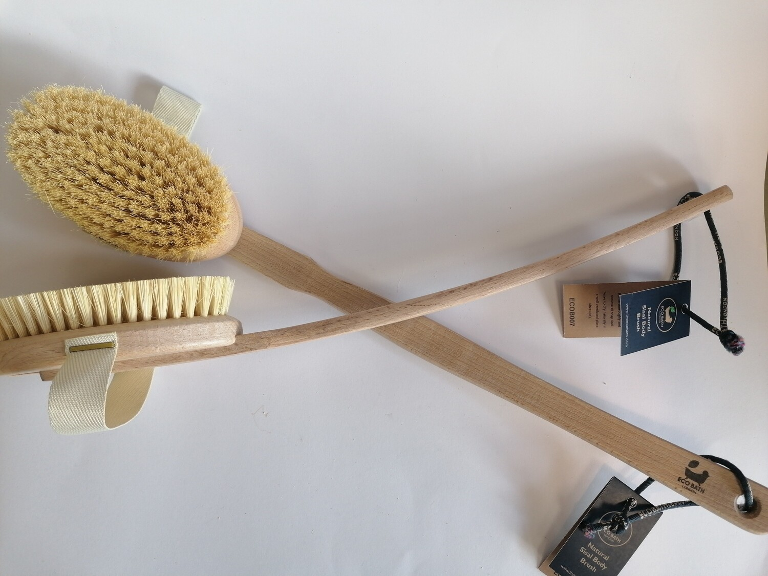 Eco Bath Natural Sisal Body Brush (Hard)