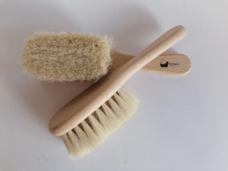 Eco Bath Goat Hair Baby Brush