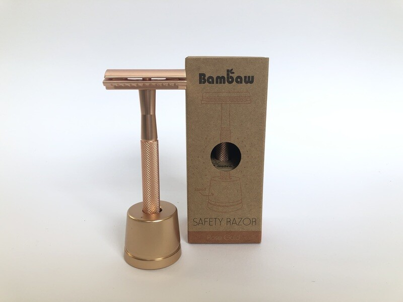 Bambaw Rose Gold Safety Razor