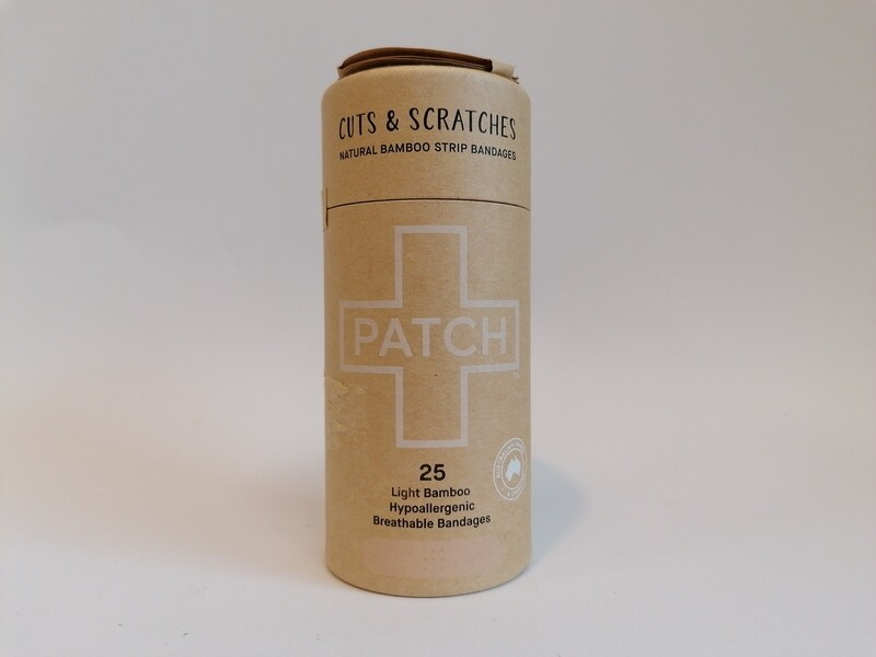 Patch 25 Bamboo Cuts & Scratches Bandages