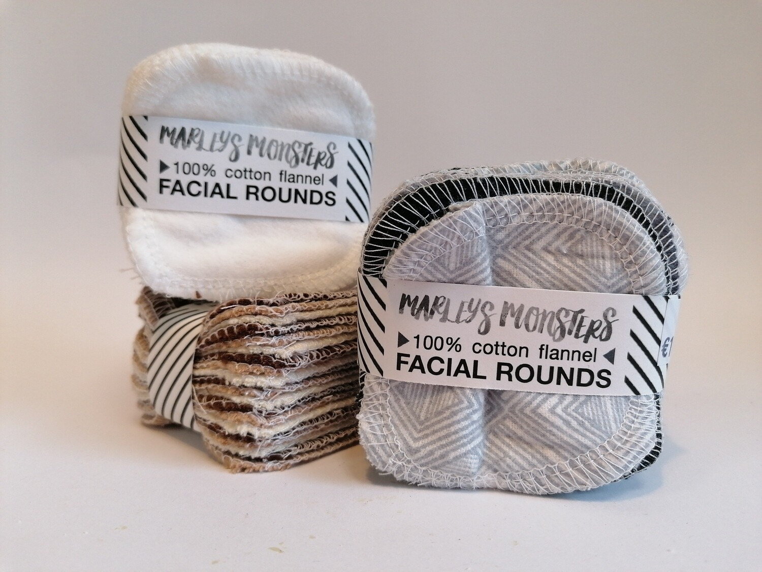 Marleys Monsters Facial Rounds Make Up Pads