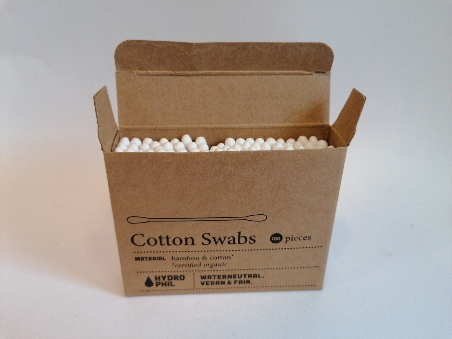 Hydro Phil 100 Cotton Swabs