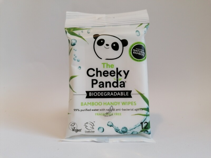Cheeky Panda Handy Wipes