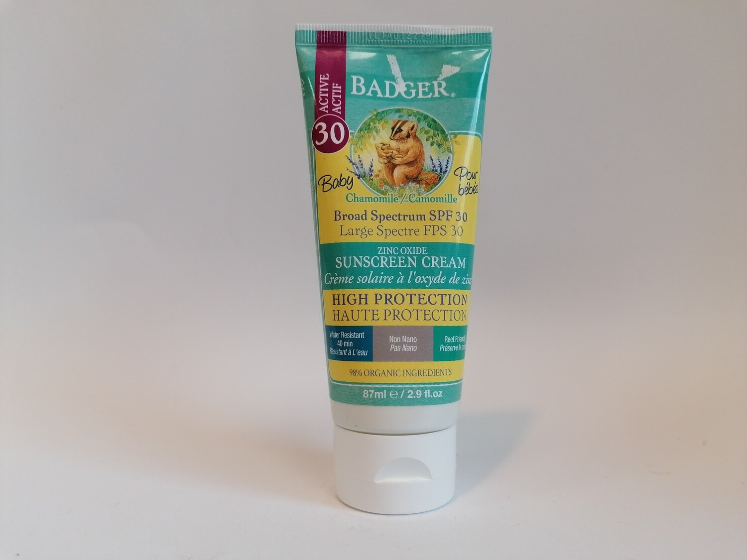 SPECIAL OFFER! Badger Baby Sun Cream SPF30
