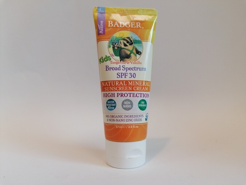 Badger Kids Sun Cream SPF30