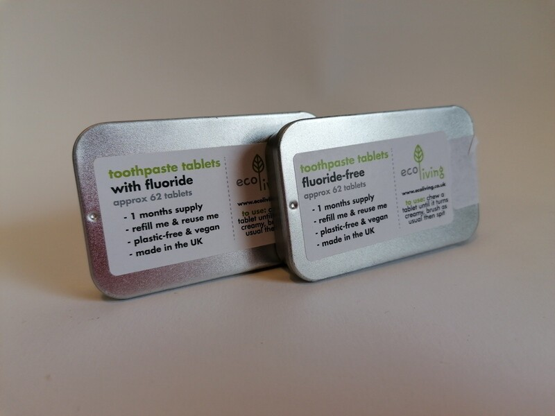 Ecoliving Toothpaste Tablets Tin