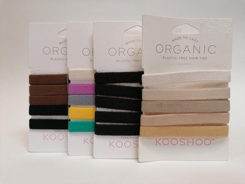 Kooshoo Organic Hair Ties
