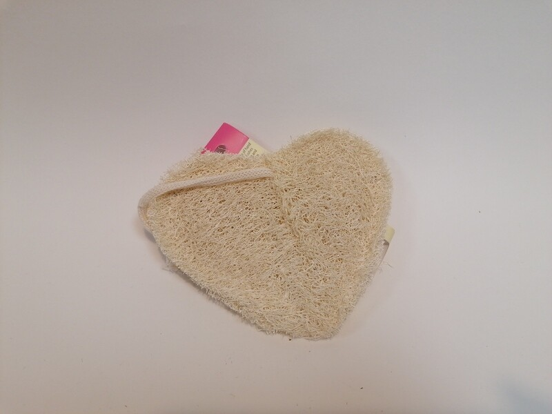 LoofCo Bath-Time Loofah Heart