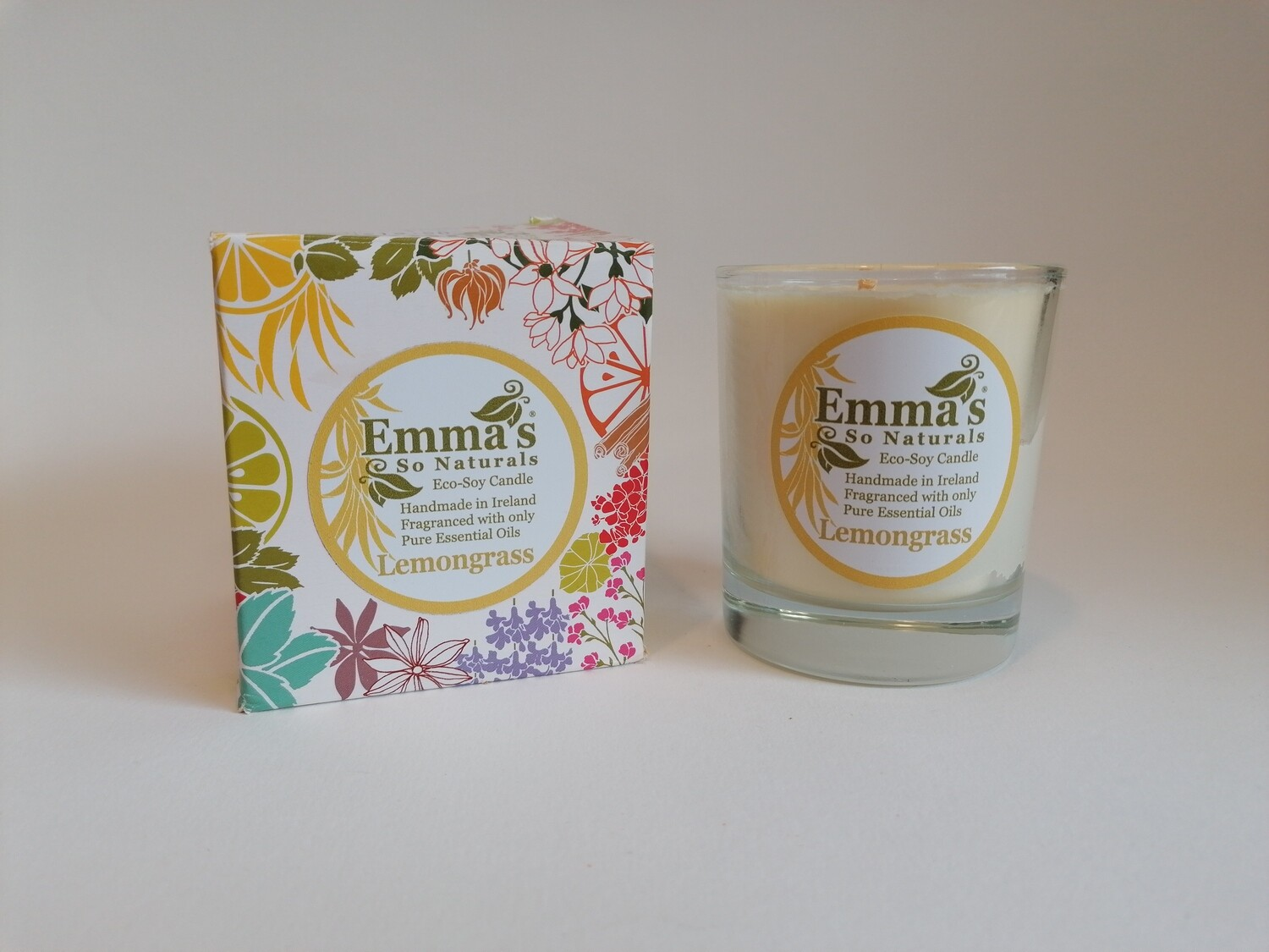 Emma's So Naturals 50h Eco-Soy Candle