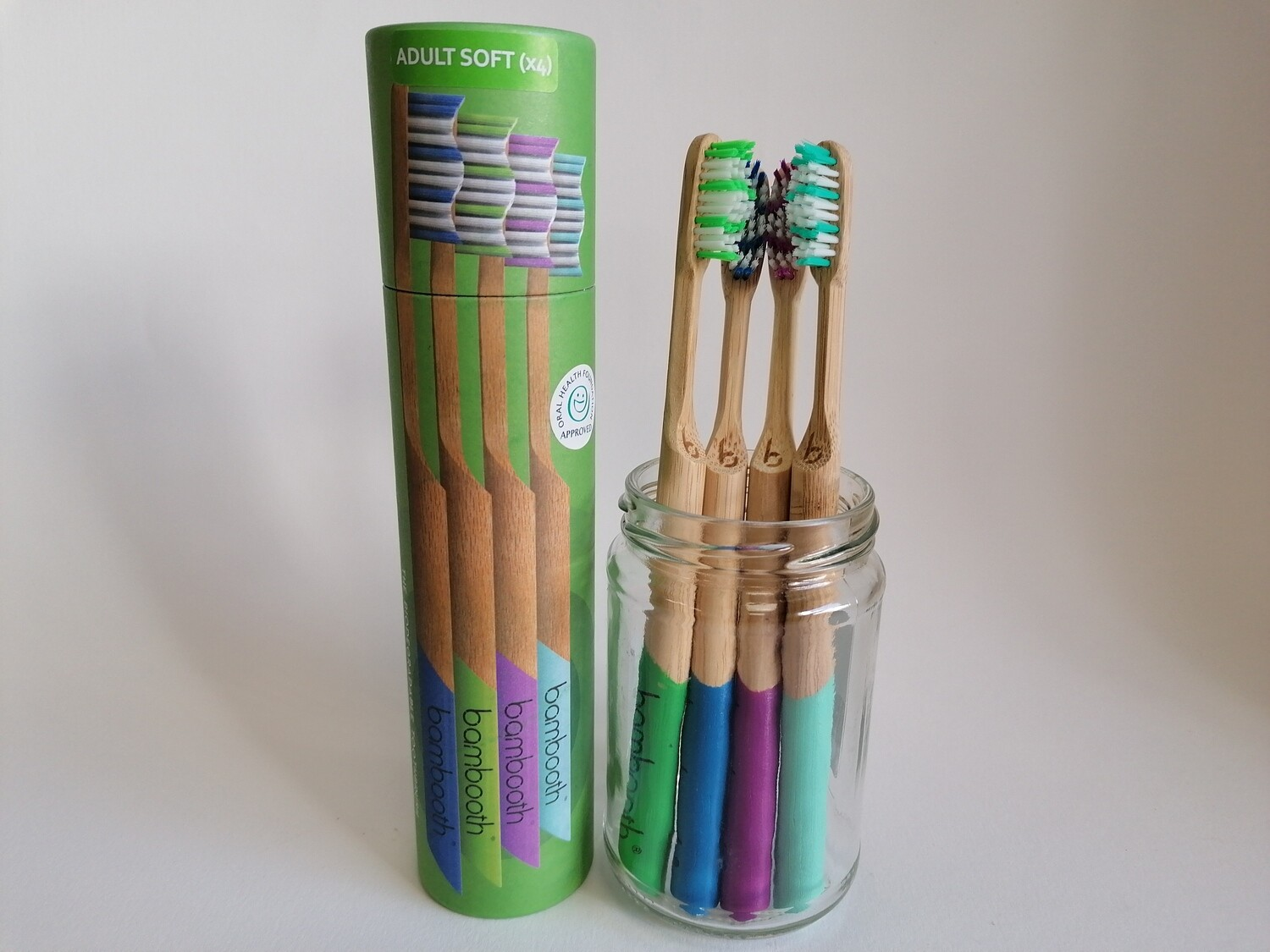 Bambooth Adults Toothbrush Multipack