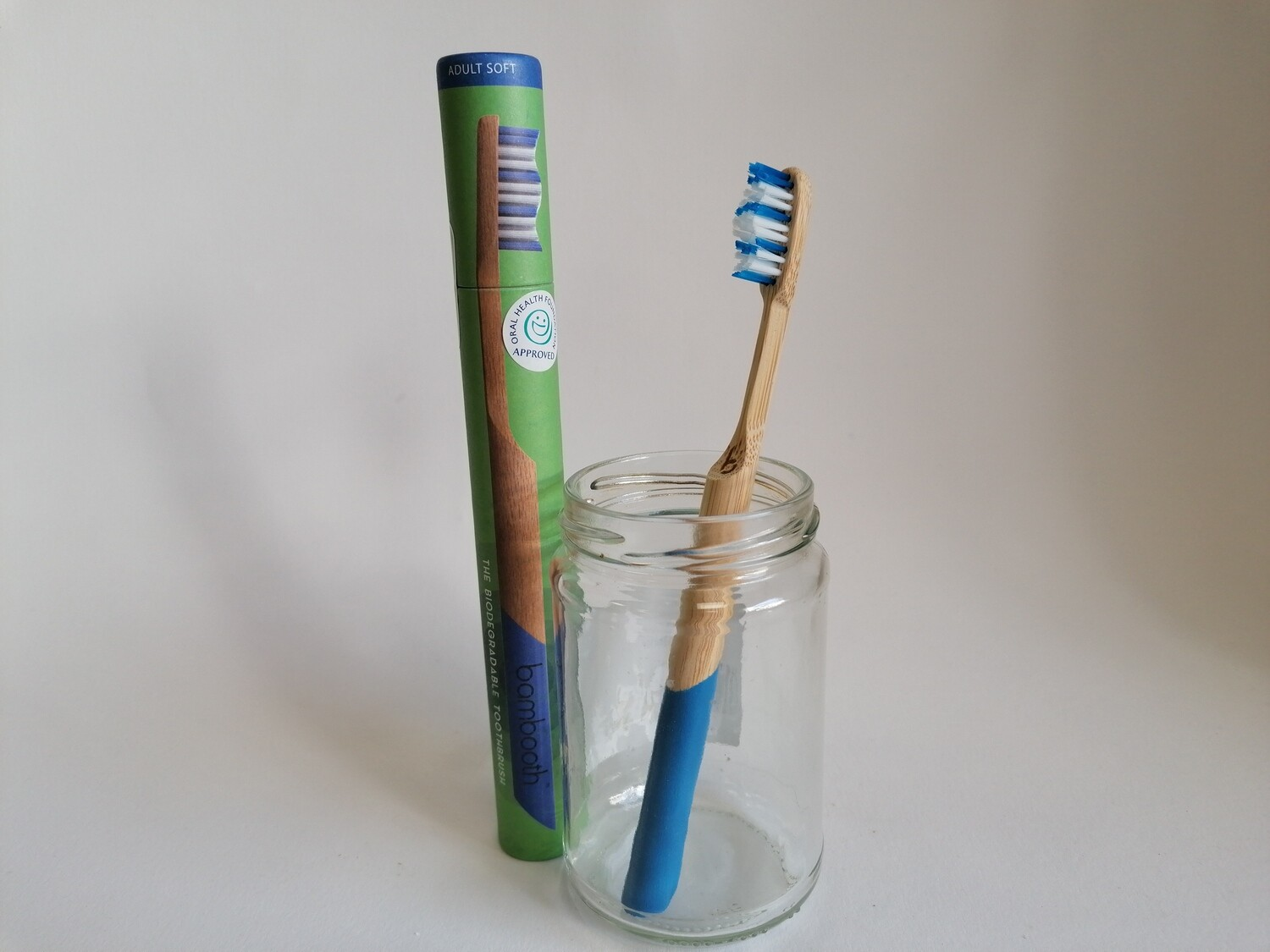 Bambooth Adults Toothbrush Soft Bristles