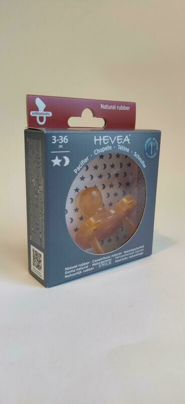 Hevea Orthodontic Rubber Soother 3-36mths