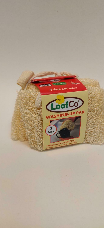 LoofCo washing up pad 2pk