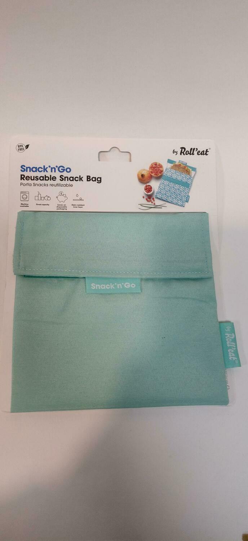 Roll'Eat Reusable snack bag green