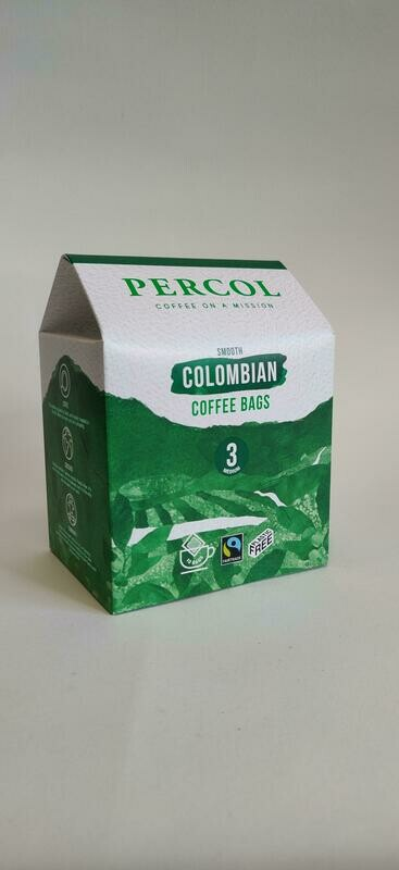 Percol Organic Coffee bags 10x8g