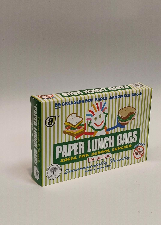 Lon an Lae Paper lunch bags 50pk
