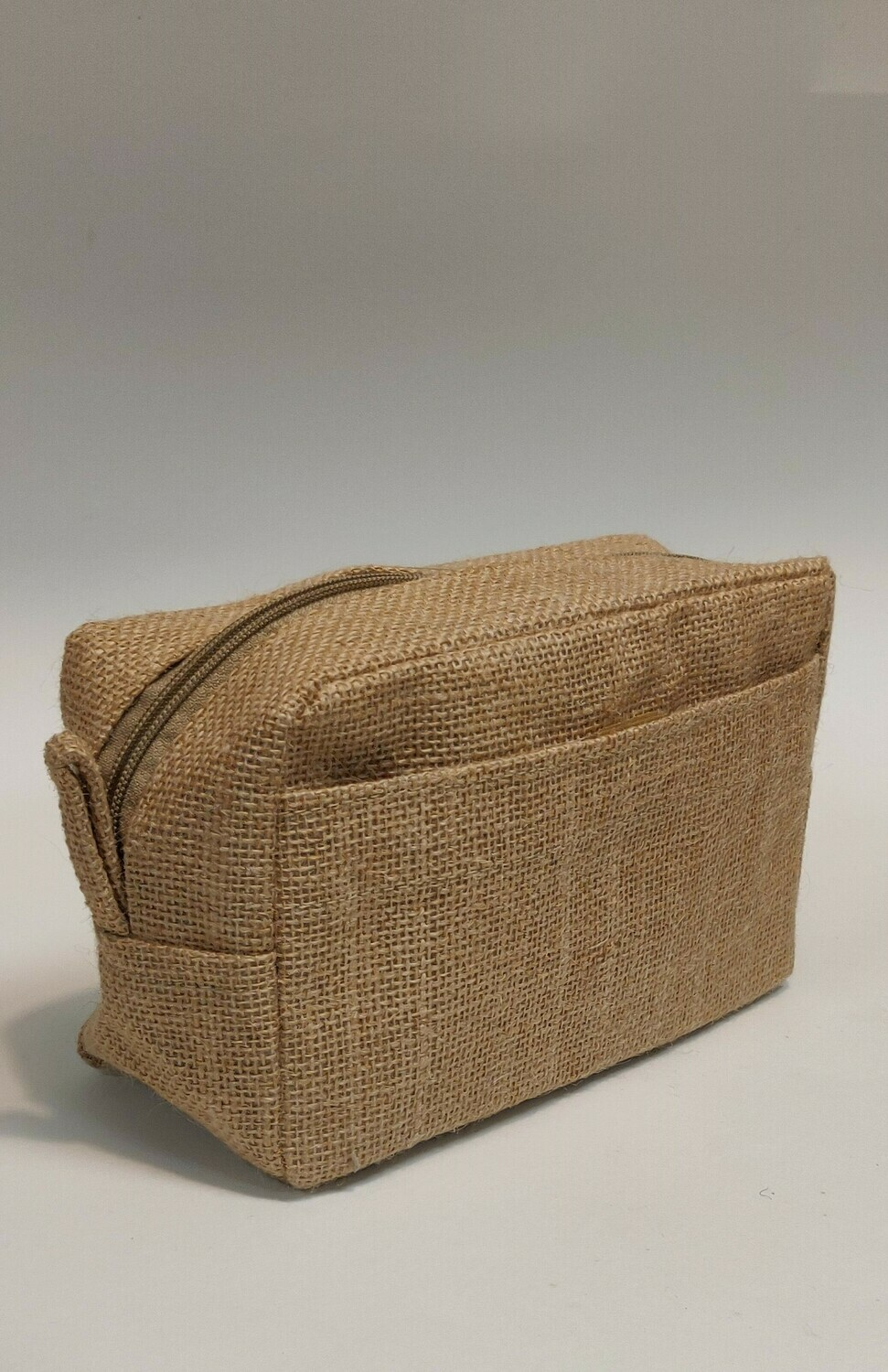 Jute Toiletries Wash bag