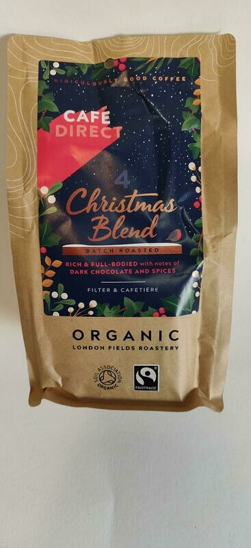 Cafe Direct Christmas Blend Organic Ground coffee
