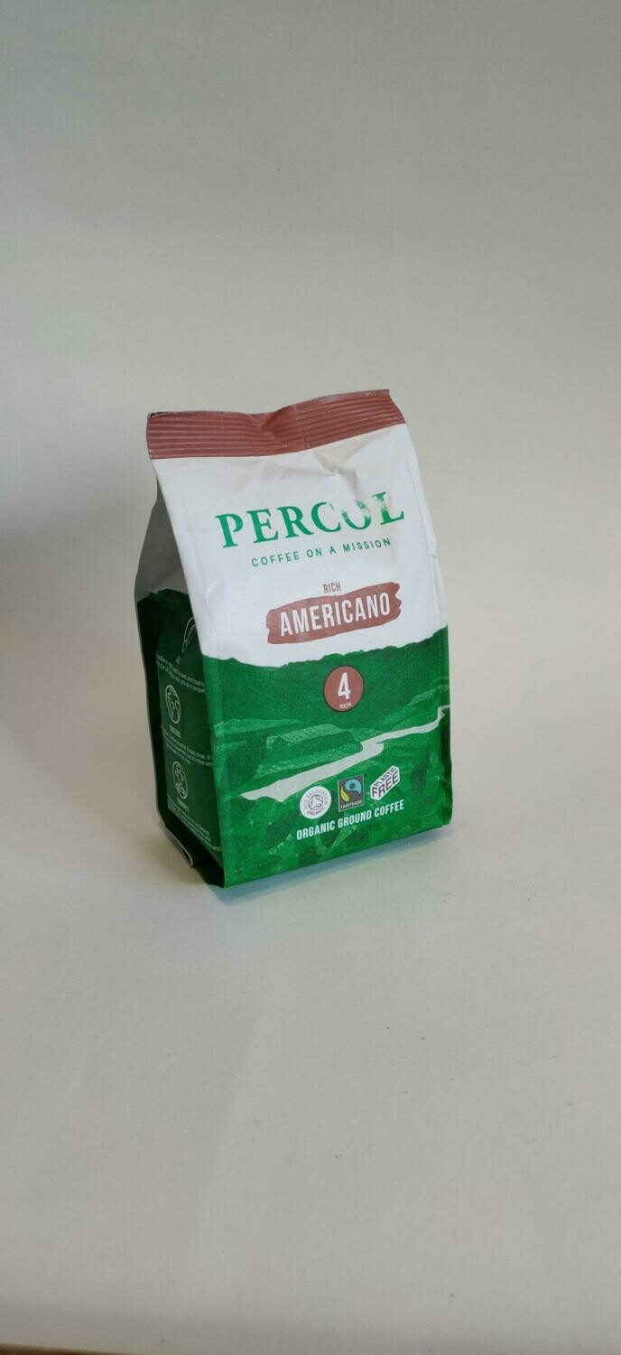 Percol Americano Organic Ground Coffee