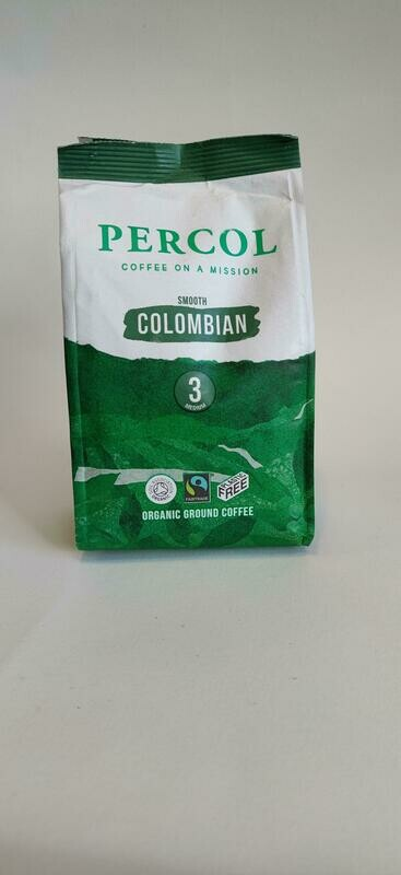 Percol Organic Columbian Ground Coffee