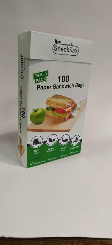 VivaGreen Snacks Sax Sandwich Bags 100s