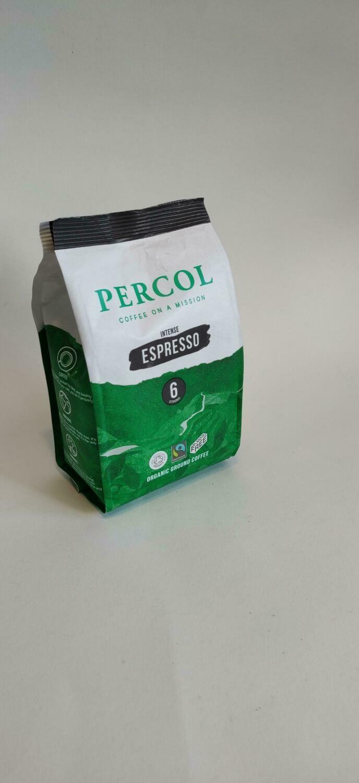 Percol Organic Espresso Ground Coffee