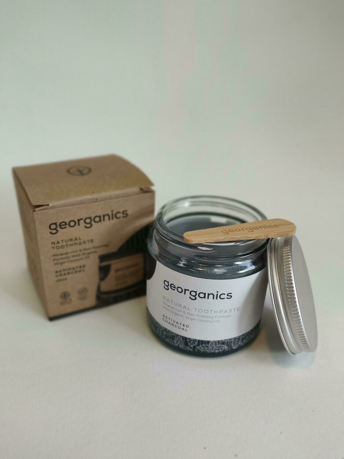Georganics Natural Toothpaste Activated Charcoal 120g