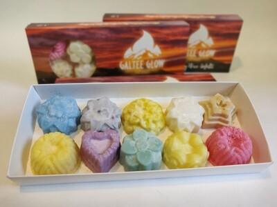 PRICE DROP!!!!!!!Galtee Glow 10 wax melts set