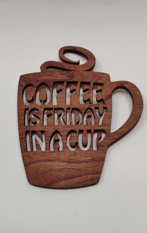 Coffee Mug wall art