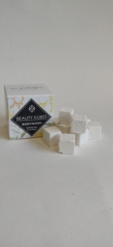 Beauty Kubes body wash White Tea and Citrus