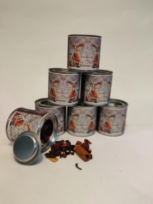 Guru Tea Winter Berries Tin  40g