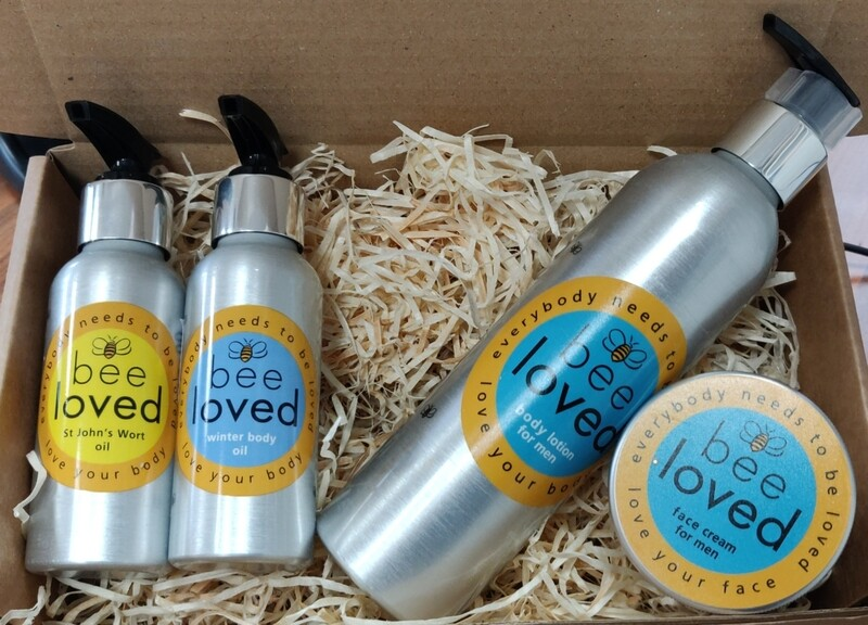 Bee Loved Mens Gift Set