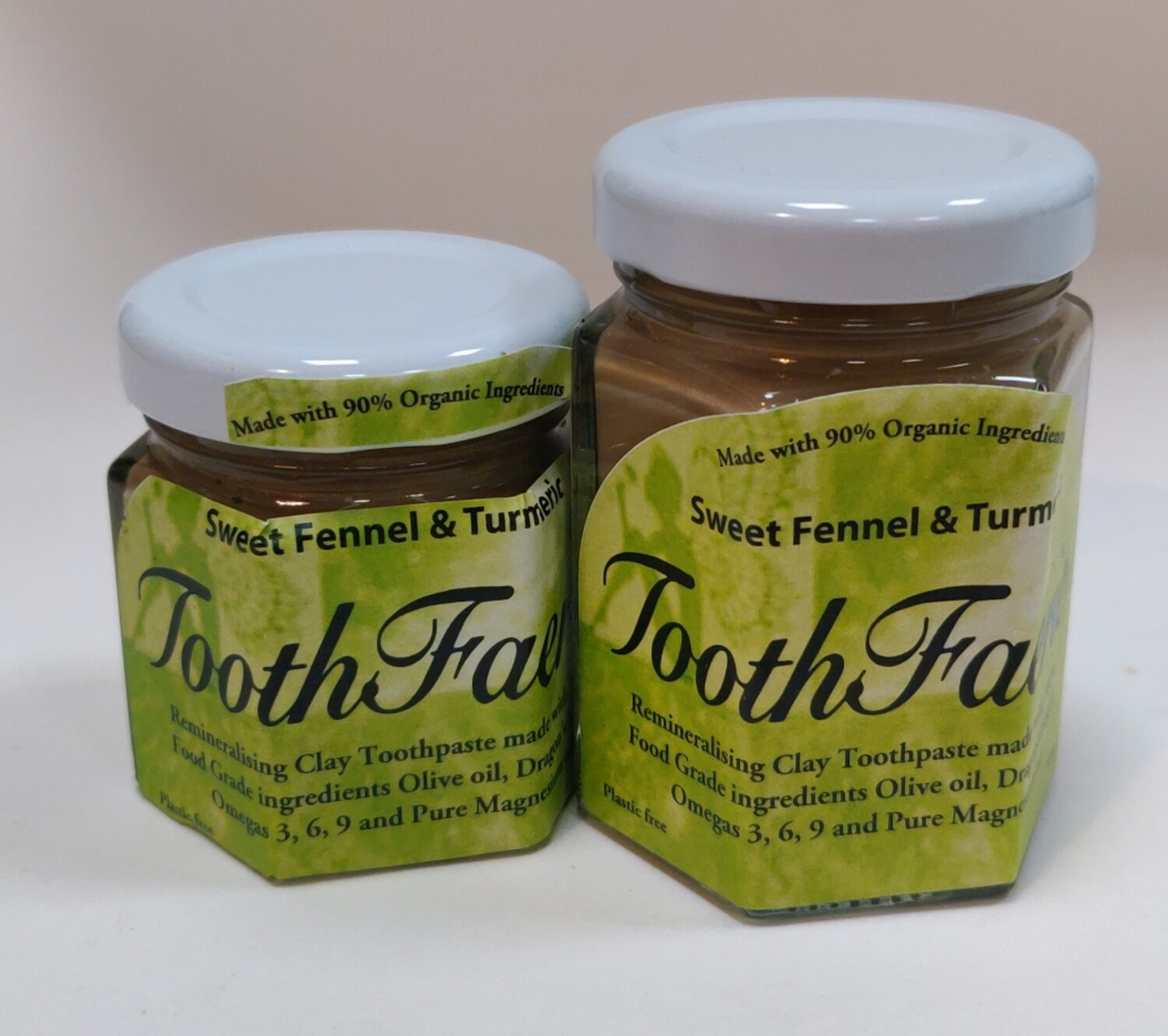 Toothfaerie Sweet Fennel and Turmeric 85ml