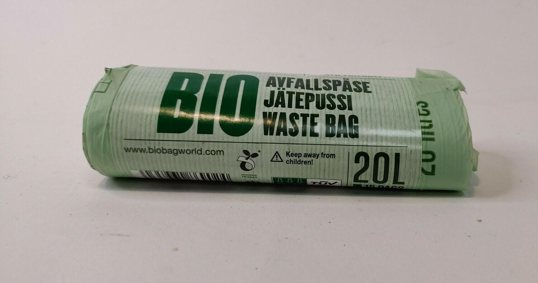 Biobag Compostable bags 20L 15bags